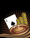 Gambling Themed Image. Stock Images