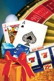 Gambling winning Royalty Free Stock Image