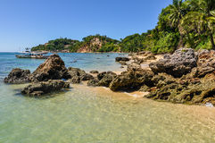 Gamboia Beach in Morro de Sao Paulo, Brazil Royalty Free Stock Photo