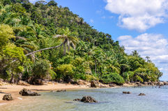 Gamboia Beach in Morro de Sao Paulo, Brazil Stock Photography