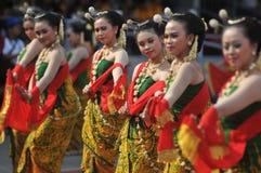 Gambyong traditional Javanese dance Stock Image