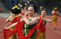 Gambyong traditional Javanese dance Stock Photo