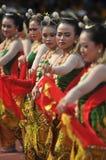 Gambyong traditional Javanese dance Stock Photos