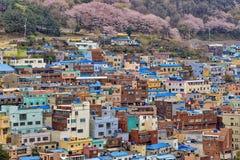Gamcheon文化村庄 免版税库存图片