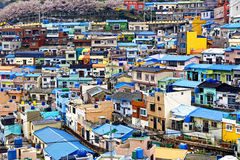 Gamcheon Culture Village, Busan Royalty Free Stock Images