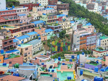 Gamcheon Culture Village, Busan, South Korea. Royalty Free Stock Photos