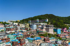 Gamcheon culture village at Busan. View of Gamcheon culture village at Busan, South Korea royalty free stock photo