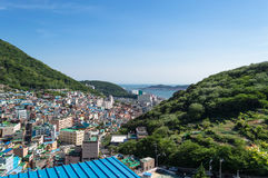 Gamcheon culture village at Busan. View of Gamcheon culture village at Busan, South Korea stock image