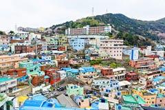 Gamcheon Culture Village in South Korea. Stock Photo
