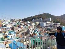 Trip to Korea stock image