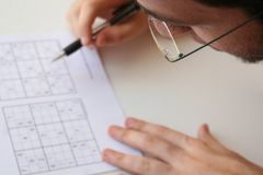 Game. Sudoku Stock Images