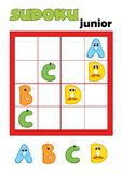 Game 80, sudoku 2 Royalty Free Stock Image
