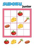 Game 90, sudoku 9 Royalty Free Stock Photo