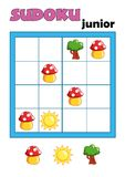 Game 91, sudoku 10 Royalty Free Stock Image