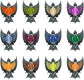 Game achievement badge Royalty Free Stock Photo