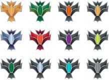 Game achievement badge Stock Photo