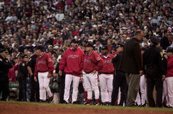 2003 Game 3 ALCS. Stock Photography