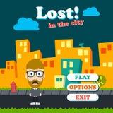 Game asset funny guy cartoon Stock Photography
