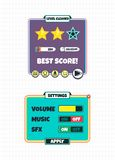 Game assets element Stock Image