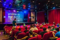 Game Athlon event 2014 Stock Photos