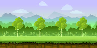Game background 2d  application. Vector design.  Royalty Free Stock Image