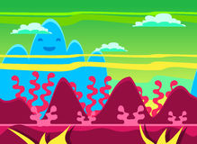 Game Background Vector Illustration Set Royalty Free Stock Photography