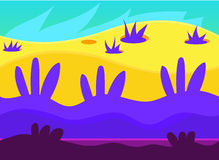 Game Background Vector Illustration Set Royalty Free Stock Photos