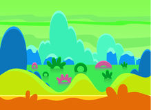 Game Background Vector Illustration Set Stock Photography