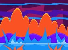 Game Background Vector Illustration Set Royalty Free Stock Photo