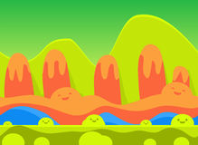 Game Background Vector Illustration Set Royalty Free Stock Photo