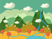 Game Background Vector Seamless Royalty Free Stock Photography