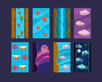 Game background Vector Royalty Free Stock Image