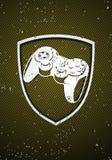 Game badge Royalty Free Stock Photo
