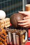 Game of the Ball with the Bracelet - Treia Italy Royalty Free Stock Photography