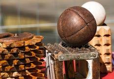 Game of the Ball with the Bracelet - Treia Italy Stock Photo