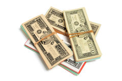 Game Banknotes Royalty Free Stock Photo