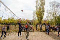The game of basketball Royalty Free Stock Photography