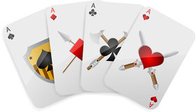 Game card Royalty Free Stock Image