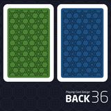 Card Back Abstract Pattern Background Underside. Game Card Back Abstract Pattern Background Underside Stock Photography