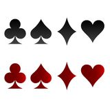 Game card sign. My check portfolio other different image Royalty Free Stock Images