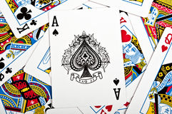Game cards Royalty Free Stock Images