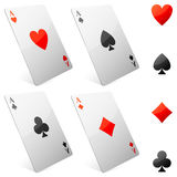 Game cards. Stock Photography