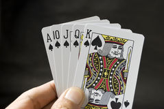 Game Cards Royalty Free Stock Photography