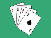 Game cards. Stock Images