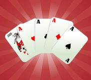 Game cards vector Stock Photo