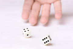 Game of chance Royalty Free Stock Images