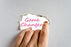 Game Changer Concept Stock Images