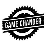 Game changer stamp Stock Photos