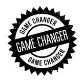 Game changer stamp. Grunge design with dust scratches. Effects can be easily removed for a clean, crisp look. Color is easily changed Royalty Free Stock Photos
