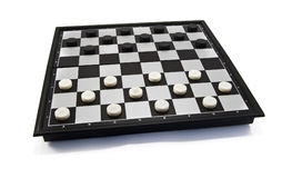 Game of checkers Stock Image